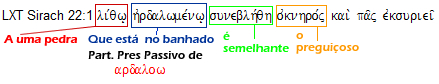 Eclesiastico 22,1