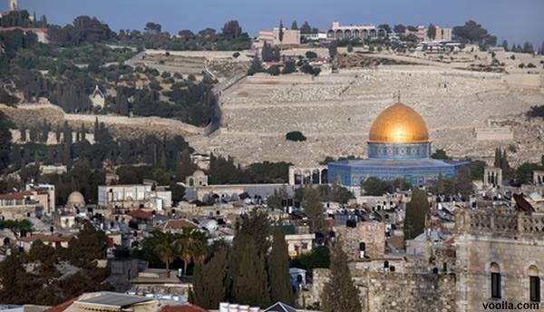 Monte das Oliveiras, Jerusalém